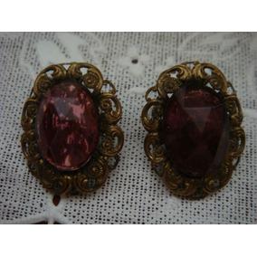 Aretes De Clip Filigrana Vintage Alemanes