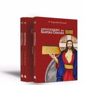 Devocional Santas Chagas-padre Reginaldo Manzotti 2 Livros