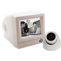 Kit Camera De Vigilancia Com Monitor E 20 Metros De Cabo