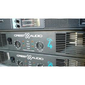 Potencia Amplificador Crest Audio Ca4