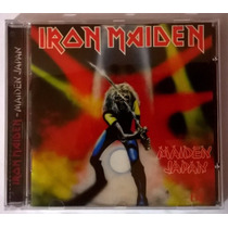 Iron Maiden Maiden Japan Cd Raro Novo Lacrado Original