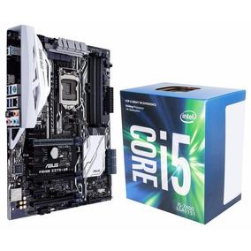 Kit Placa Mãe Asus Prime Z270-ar + Processador Core I5 7400