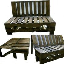 Eco Sala Sofa/cama Reclinable Nuevos Ahorra Espacio Pallets