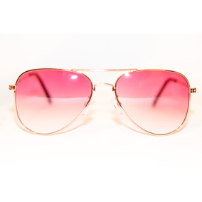 Armação Oculos Aviador Lente Colorida Rosa Unicornio Modinha e571b2e2a7