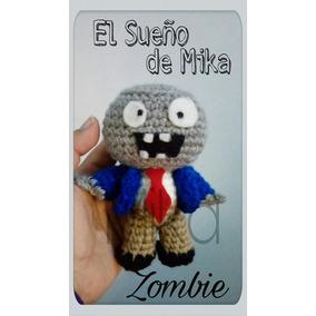 Muñeco Zombie Amigurumui