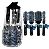 Pack 4 Cepillos Peluquería Profesional Brushing Babyliss Pro