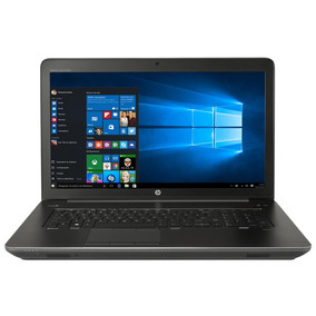 Notebook Hp Zbook G3 Intel Xeon E3 V5 32gb 256gb Ssd W10