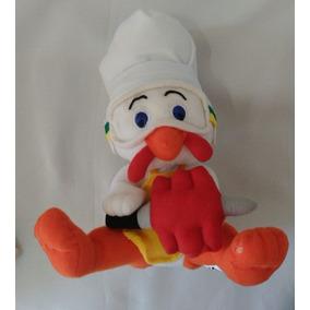 Brinquedo Pelúcia Mascote Churrasqueiro Frango Sadia