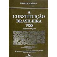 Livro Raro: A Constituição Brasileira 1988 + Brinde