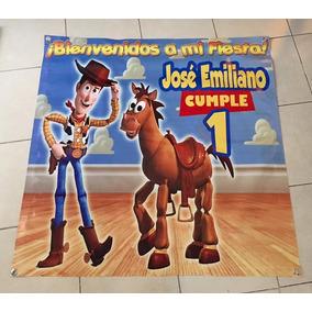 Lona Personalizada Para Fiesta, Cumpleaños, Piñatas, Bautizo