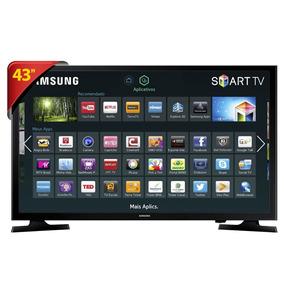 Tv Led Smart 43 Samsung 43j5200 Full Hd - Wi-fi Integrado,