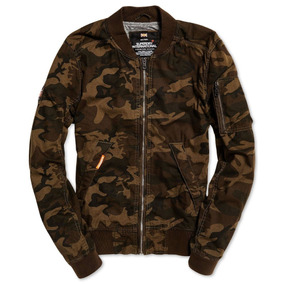 Chamarra Superdry Rookie Duty Bomber Camo Jacket...