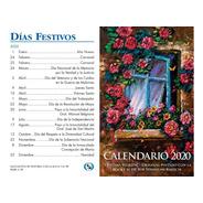 Calendario De Bolsillo 2020