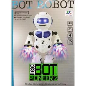 Bot Robot Pionner 2 Musical Robô Dança Lançamento 2017