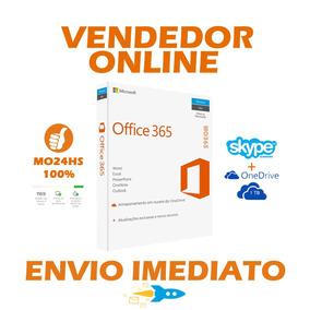 Office 365 + Onedrive 1tb Skype 60m 1 Pc Ou Mac 1 Ano