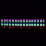 Luneta Audioritmica 90x25 Gigante Led Tuning Efectos Nh
