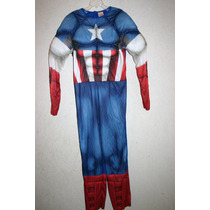 Disfraz Capitan America Disney Marvel Niño Talla 12 - 14