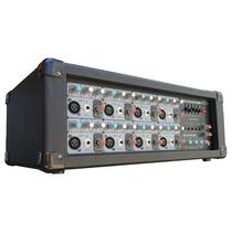 Consola Amplificada 8 Canales Ecnio 1000 Watts.