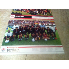 +m+ Lote 2 Poster Placar Vitória Campeão Baiano 2002 E 2008