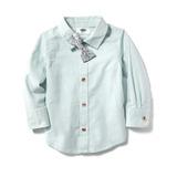 Camisa Old Navy Moño/floreado Estilo #205351-00-1 Manga Larg