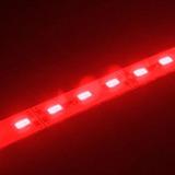 2 Cinta Led Rigida Aluminio De 50 Centimetros C/u 5630 Rojo
