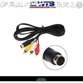 Cable Conector 10 Pin S-video Mini Din Macho A 3 Rca Macho