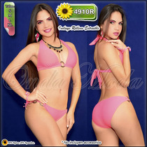 Trajes Baño Dama Ultima Moda 2017 Bikinis Altos Mayor Hilo