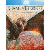 Game Of Thrones Juego De Tronos 1-6 En Bluray Boxset