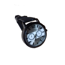 Relógio Masculino Back Water Resistant Stainless Steel
