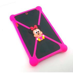 Capa Bumper Minnie Para Tablet 7 E 8 Polegadas - Universal