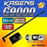 Antena Wifi Rompemuros Kasens G9000 6000mw Realtek 8187l W01
