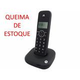 Telefone Sem Fio Motorola Moto500id - Bivolt