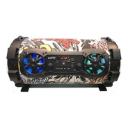 Parlante Bronx Bluetooth Portatil 200watts 5.5 Woofer