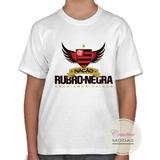 Camisa Infantil Flamengo Nação Rubro-negra