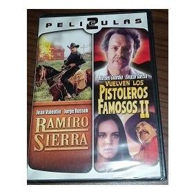 Dvd Nuevo 2 Peliculas En 1 Ramiro Sierra/pistoleros Famosos2