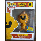 Funko Pop Pete Puma #261 Looney Tunes Exclusivo E Raro
