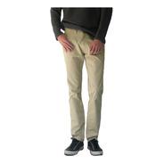 Pantalon Slim De Gabardina- Corte Jean - Colores - B A Jeans