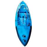 Caiaque De Fibra De Vidro 3.10x080m, Com Remo, Pesca E Lazer