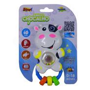 Chocalho Mordedor Infantil C/barulho Suave Animais Brinquedo