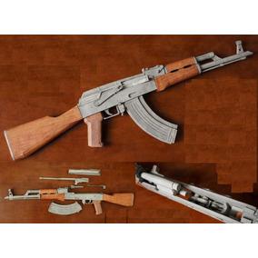 Projeto Armas De Papel M4 Ak47 1911 Airsoft Paintball