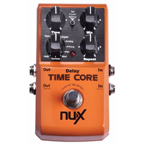 Pedal Guitarra Nux Time Core Delay Looper