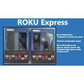 Roku Express Nuevo No Refurbish M E S Grtis Program