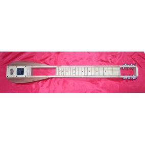 Lap Steel Guitarra Lap Music, Funda Slide De Bronce Luthier