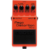 Pedal Boss Md-2 Para Guitarra Y Bajo Mega-distortion