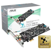 Placa De Som Asus Xonar Dsx 7.1 Pci Express
