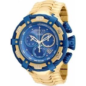 Relogio Dak45691 Invicta Thunder Bolt 21347 Gold Blue Cx Top