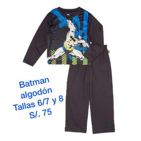 Dc Comics Batman Pijama Polyester Permeable Antiflama Origin