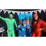 Pj Mask Héroes En Pijamas En Santiago Animacion Cumpleaños