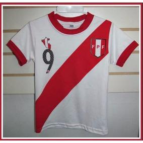 Polos Selección Perú En Algodon