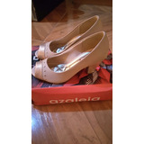 Zapatos Azaleia Talla 35 - Taco 5